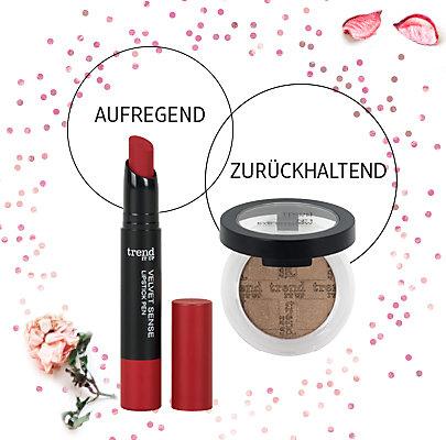 roten Lippen zum Valentinstag