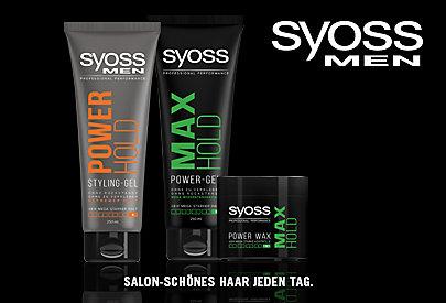 Stylingprodukte von SYOSS speziell für Männer: Perfektes Styling!