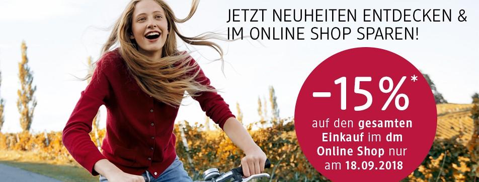 Entdecken Sie die Produktneuheiten im dm Online Shop.
