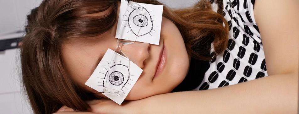 Tipps gegen müde Augen.