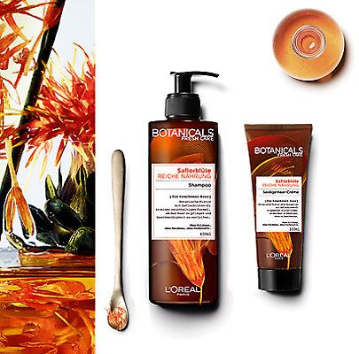 Saflorblüten-Öl spendet Ihrem Haar Feuchtigkeit.