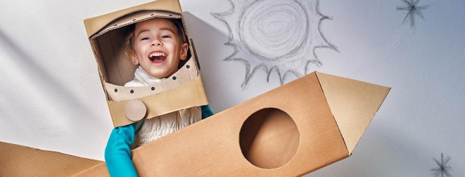 Kinderspiele für drinnen - die perfekte Alternative für Schlechtwetter.