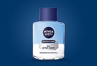 NIVEA MEN 2-in-1 After Shave vereint die Pflege und den Schutz eines Balsams mit dem erfrischenden Effekt eines Fluids.