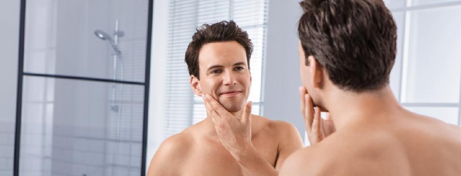 Die Pflege der Haut nach der Rasur ist erfrischend, angenehm und auch notwendig!