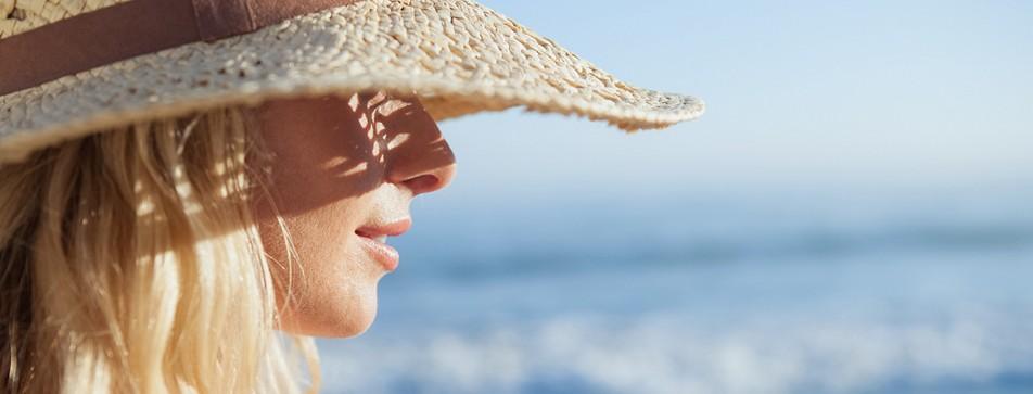 Blonde Strähnchen: Wie von der Sonne geküsst.
