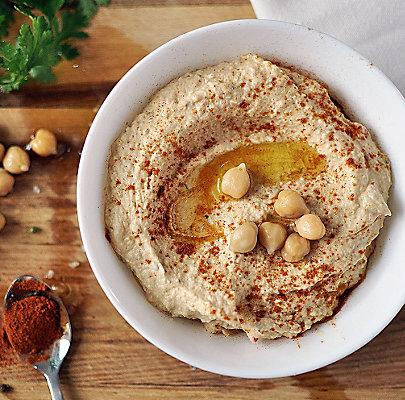Rezepttipp: Hummus mit Tahin