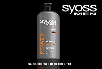 Haarpflegetipps für Männer von SYOSS.