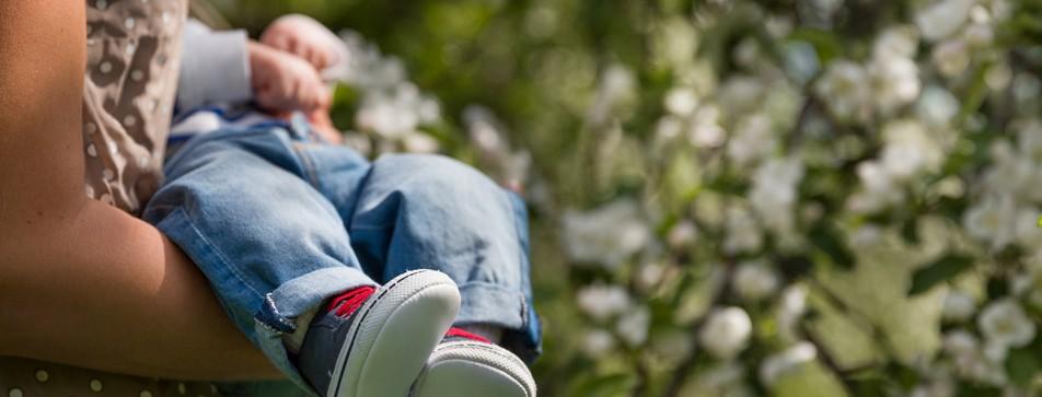 Kinder im Garten - ein Spaß für alle.