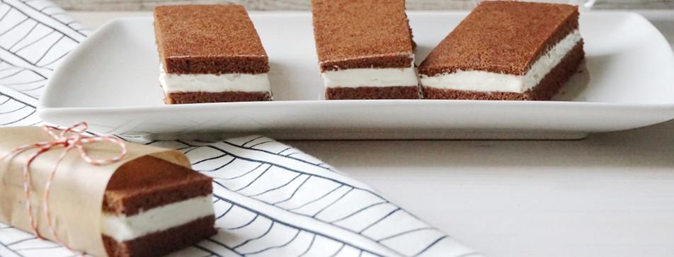 Dessert-Rezept: Eiscreme-Sandwich