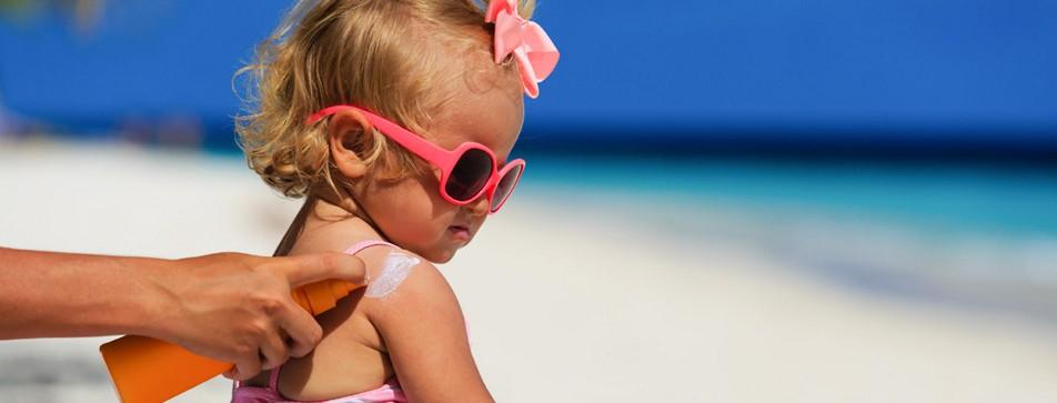 Sonnenschutz für Babys und Kinder