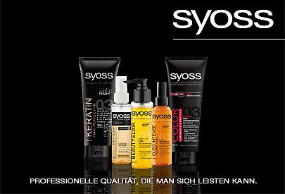 Intensive Pflege fürs Haar: Haarkuren von Syoss.