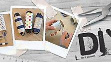 DIY: Klopapierrollen gegen Kabelsalat