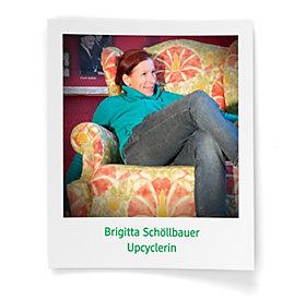Upcyclerin Brigitta Schöllbauer