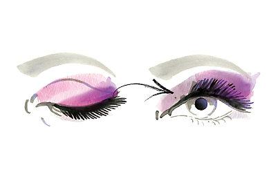 Volumenmascara für einen dramatischen Augenaufschlag