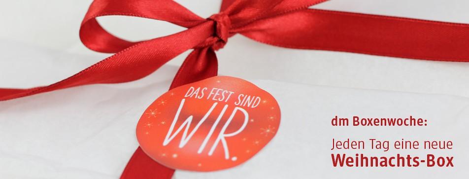 dm Box: Geschenkidee für Weihnachten.