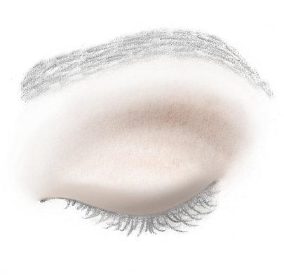 Der untere und obere Wimpernkranz wird verstärkt.