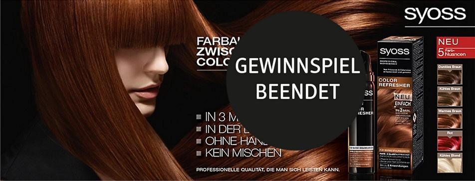 Glanz für's Haar in nur drei Minuten - auch zwischen den Colorationen!
