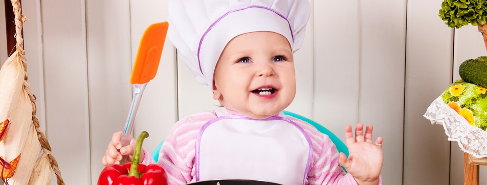 Die Zutaten für Baby-Beikost kann man auch gut für Erwachsenen-Mahlzeiten verwenden.