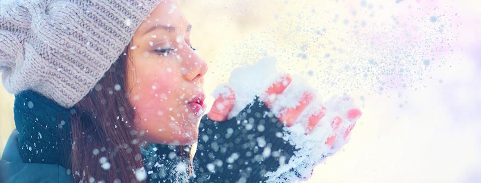 Tipps für zarte Haut im Winter.