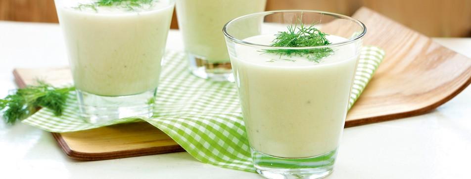 Leichte Sommersuppe: Fenchelsuppe