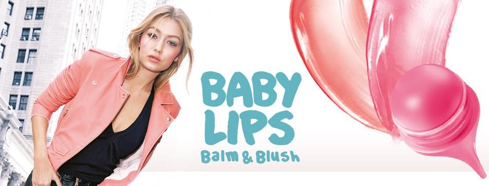 Gepflegte Lippen und rosige Wangen mit Maybelline Baby Lips Balm & Blush