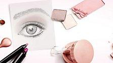 Einfaches Augen-Make-Up