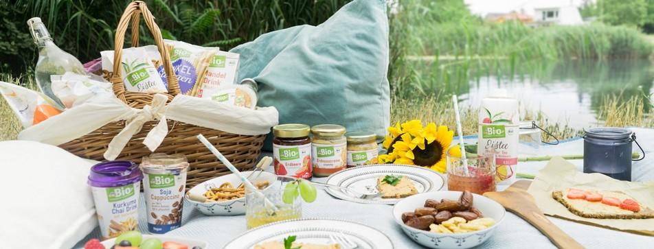Produktempfehlungen und Rezepte für's Picknick.