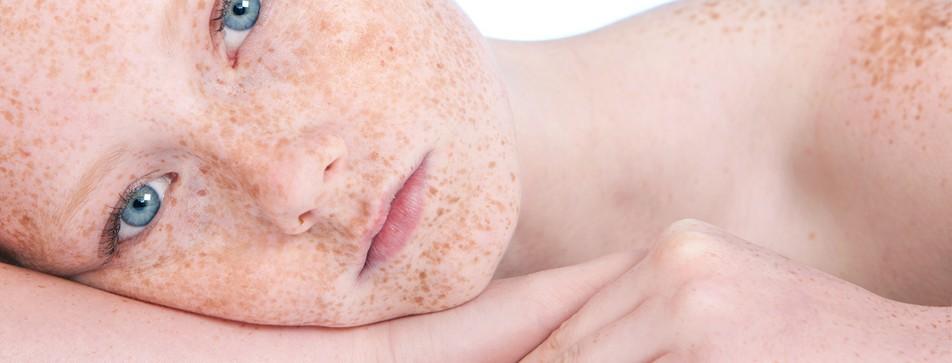 Empfindliche Haut benötigt spezielle Reinigungsprodukte.