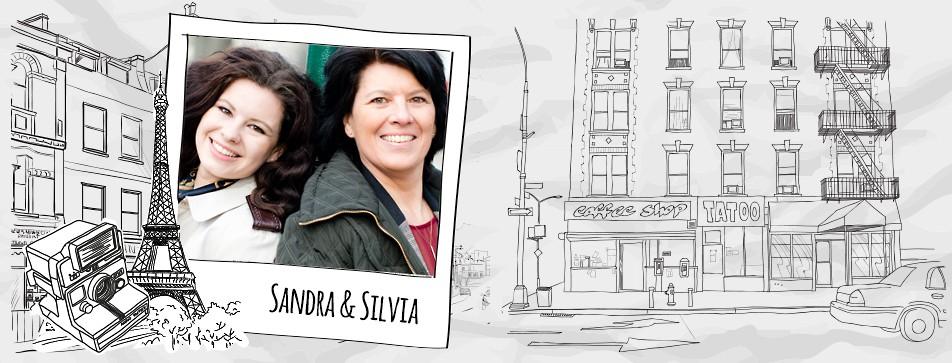 Streetstyle: Mutter und Tochter