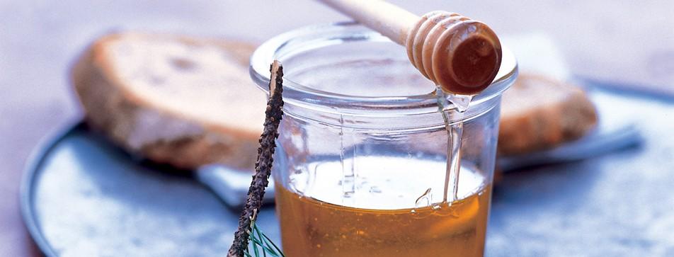 Bio-Honig im Glas