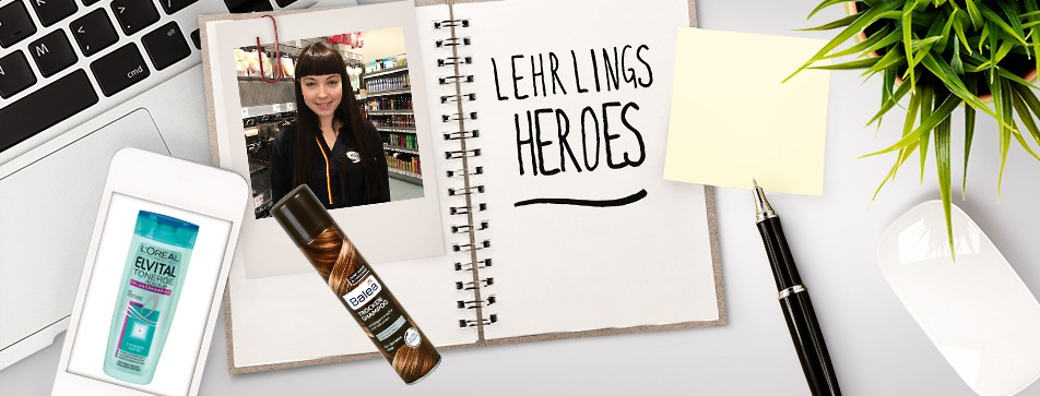 Lehrlings Heroes: Die Lieblinge der dm Lehrlinge.