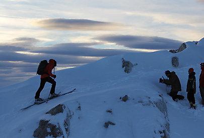 Der früh morgendliche Bergaufstieg!