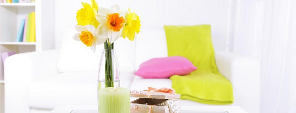Lassen Sie den Frühling in Ihr Zuhause.