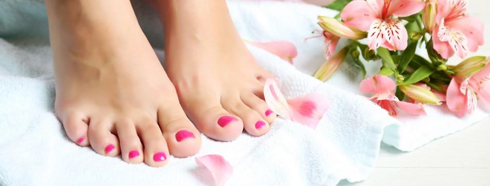 Mit schönen Füßen zur Geburt?