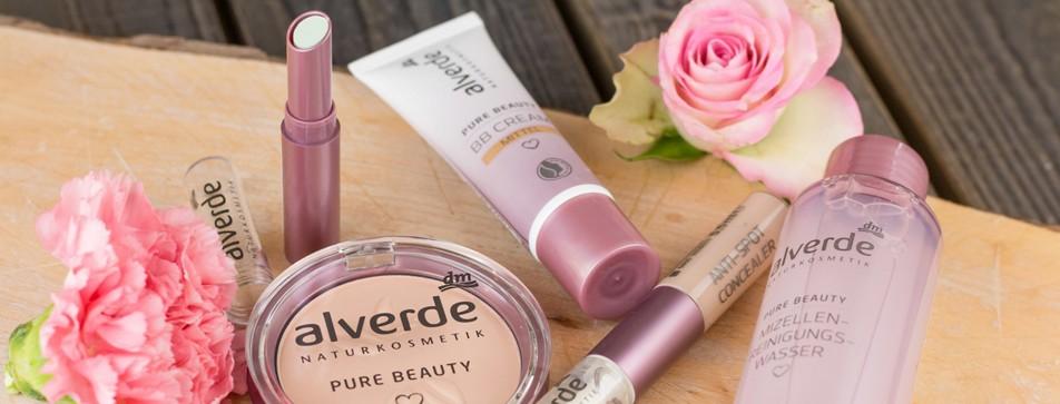 alverde Pure Beauty für junge Haut