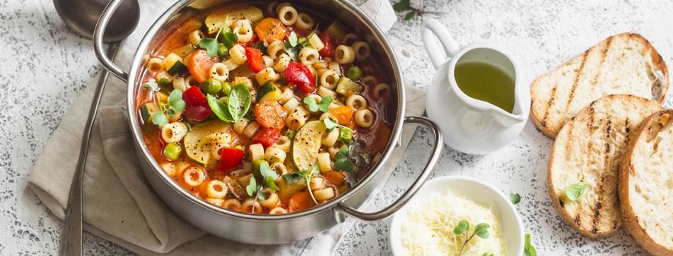 Mediterrane One-Pot-Pasta