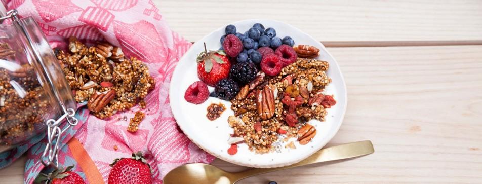 Frühstücksidee Granola Bowl