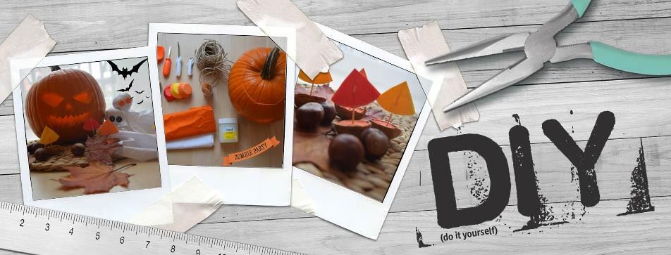 DIY-Ideen für Halloween.
