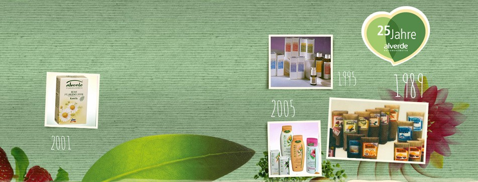 alverde steht für tierversuchsfreie Kosmetik, die Rohstoffe stammen aus kontrolliert biologischem Anbau.