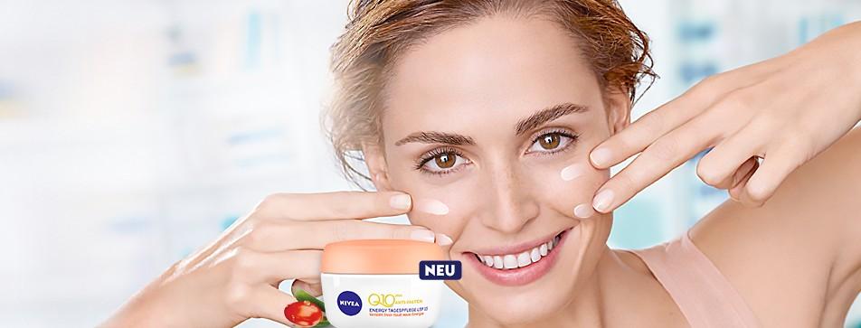Kraft und Energie für die Haut mit Nivea Q10 Anti-Falten-Pflege