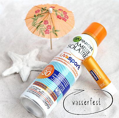 Sonnenschutz für Haut und Lippen