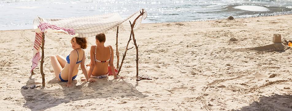 Die schmerzhaftesten Sonnenbrandstellen und wie Sie sich davor schützen.