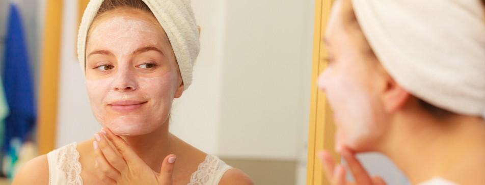 Die richtige Gesichtspflege bei Mischhaut.