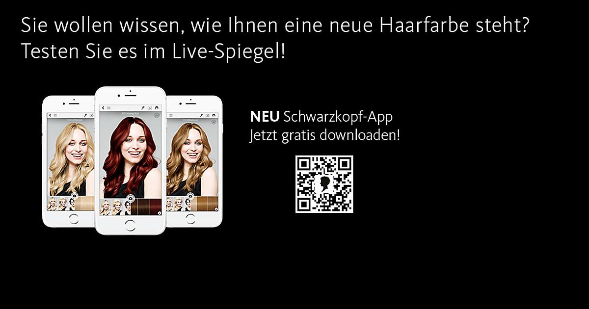 Frisuren Testen Mit Schwarzkopf App Dm Online Shop