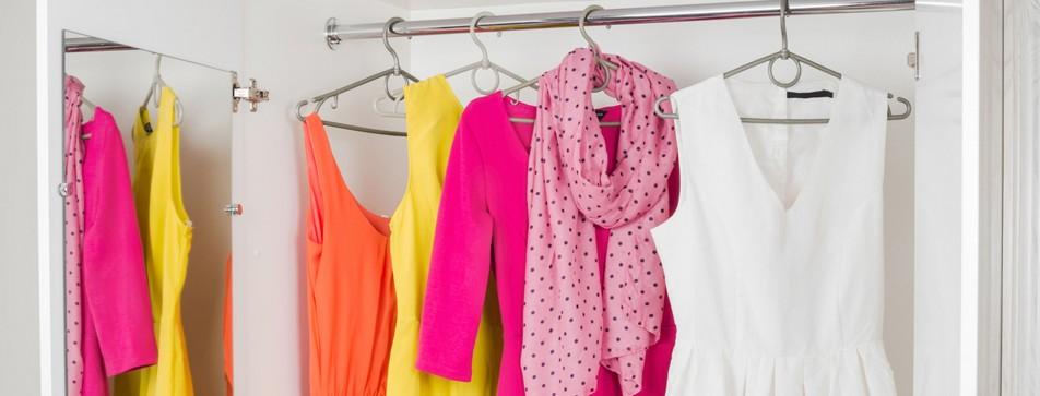 Frisch duftende Wäsche im Kleiderschrank - so bleiben Ihre Kleider länger frisch.