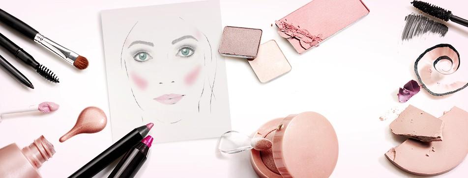 Die richtige Rouge-Technik für Ihre Gesichtsform.