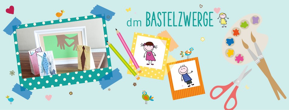 Bastelzwerge: Geschenke zum Vatertag.