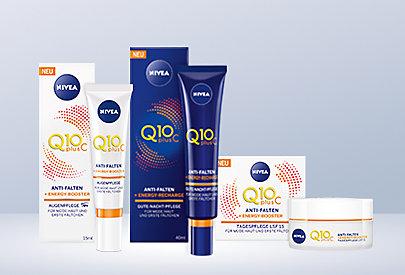 Unterstützung für Ihren Schönheitsschlaf: die neue NIVEA Q10plusC + Energy Anti-Falten Gesichtspflege