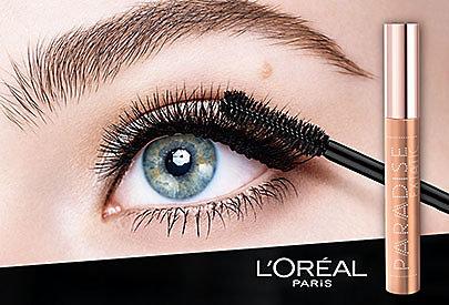 Sinnliche, lange Wimpern mit der L'Oréal Paris Paradise Extatic Mascara.