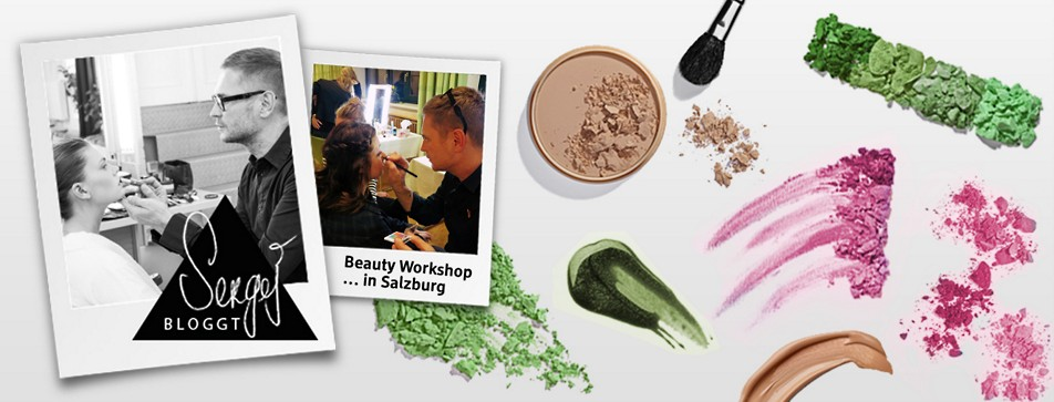Sergej Benedetter beim beauty Workshop in Salzburg
